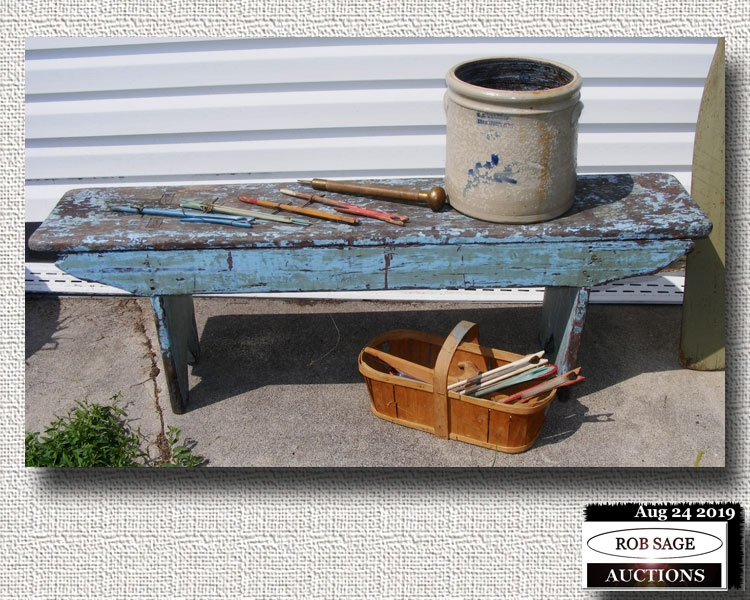 Original Paint Bench