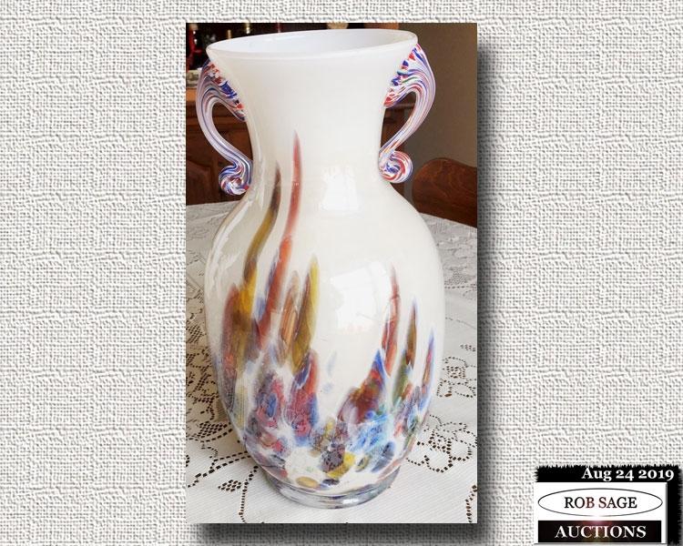 """13"""" Murano Vase"""