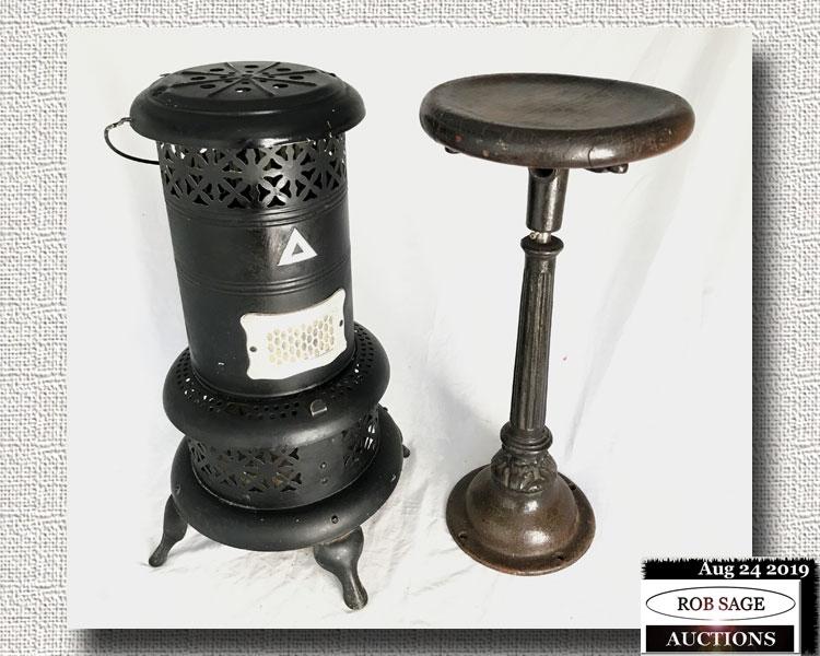 Heater & Stool