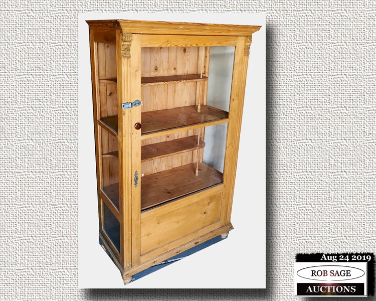 Pine Display Case