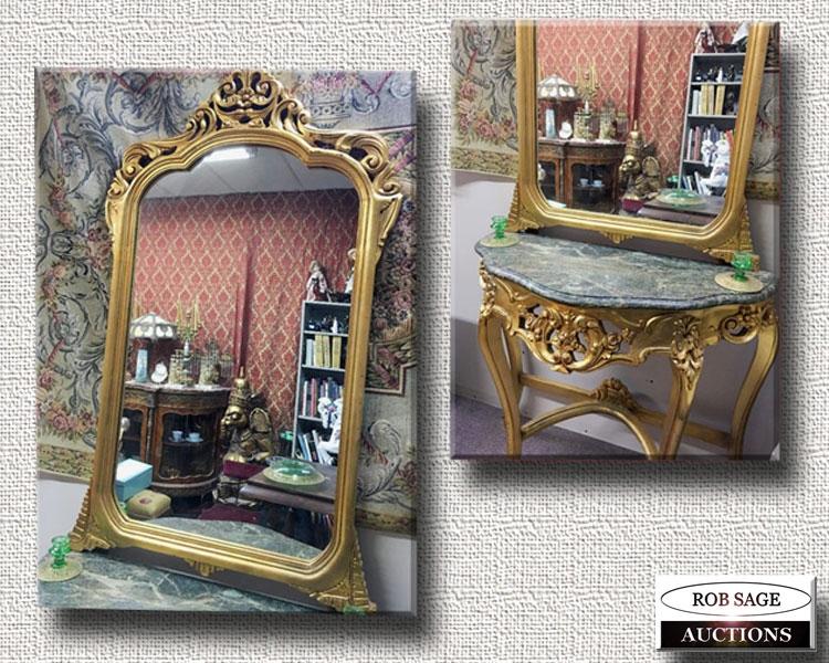 Hall Mirror/Table