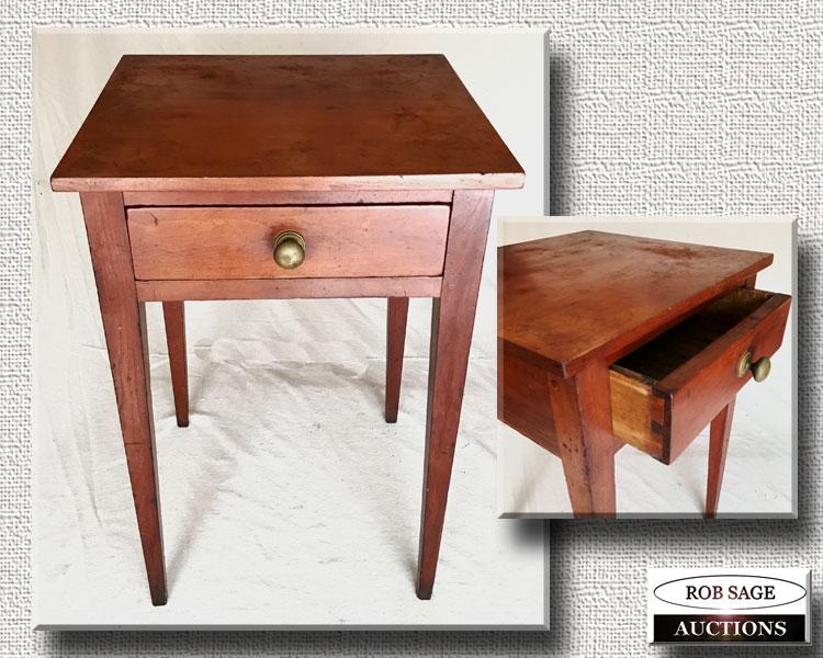 Cherry Lamp Table