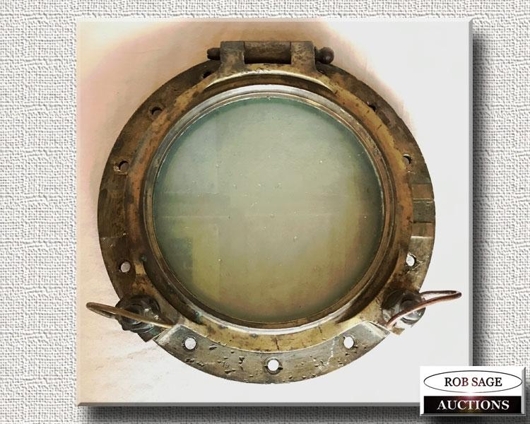 Brass Porthole Window