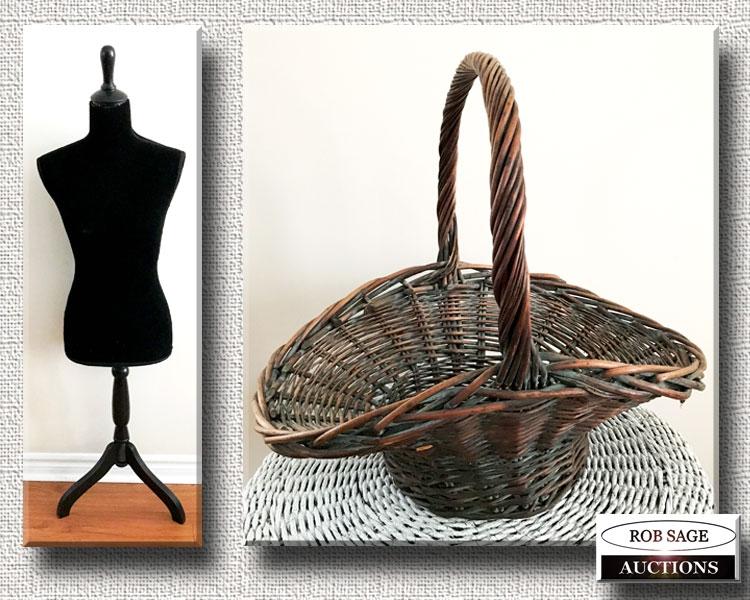 Basket/ Dress Form