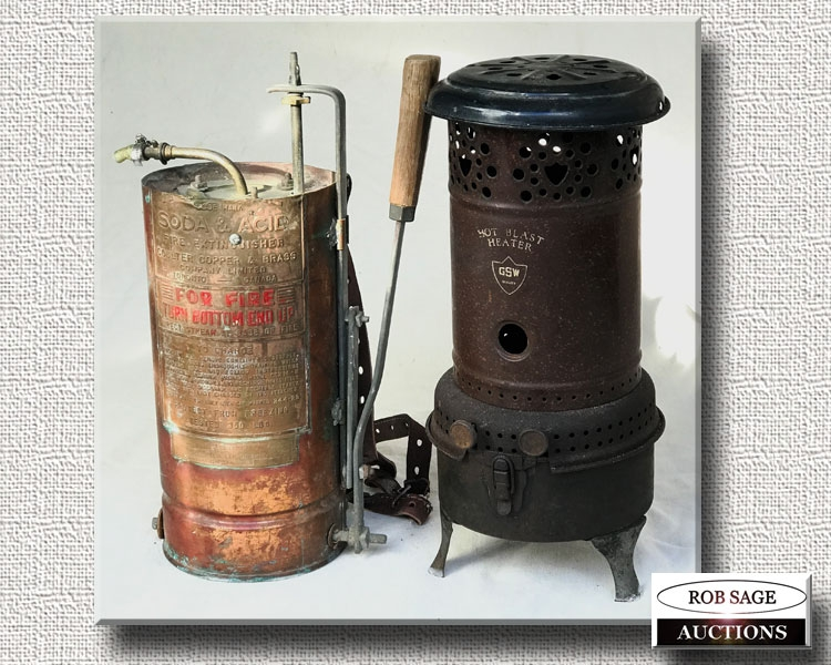 Fire Extinguisher/Heater
