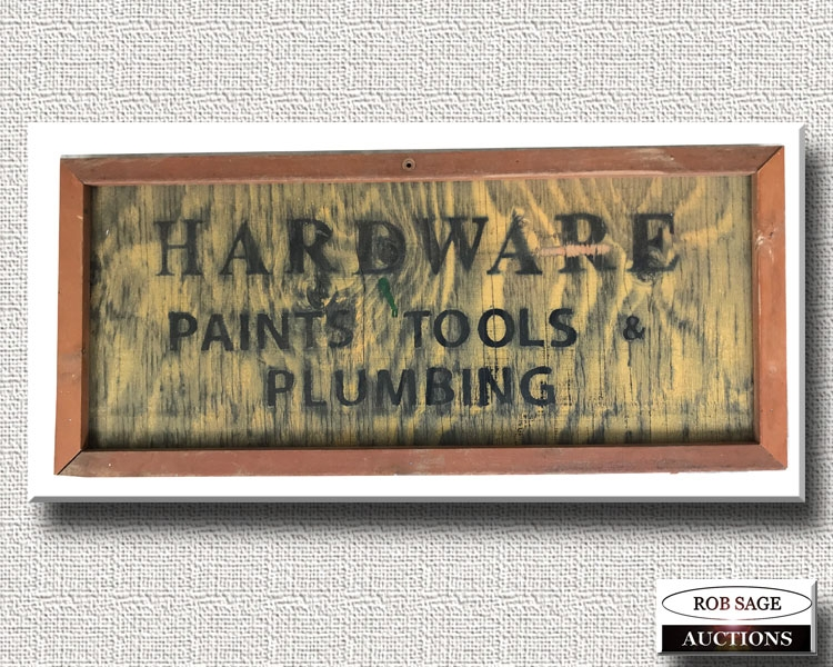 Wooden Store Sign