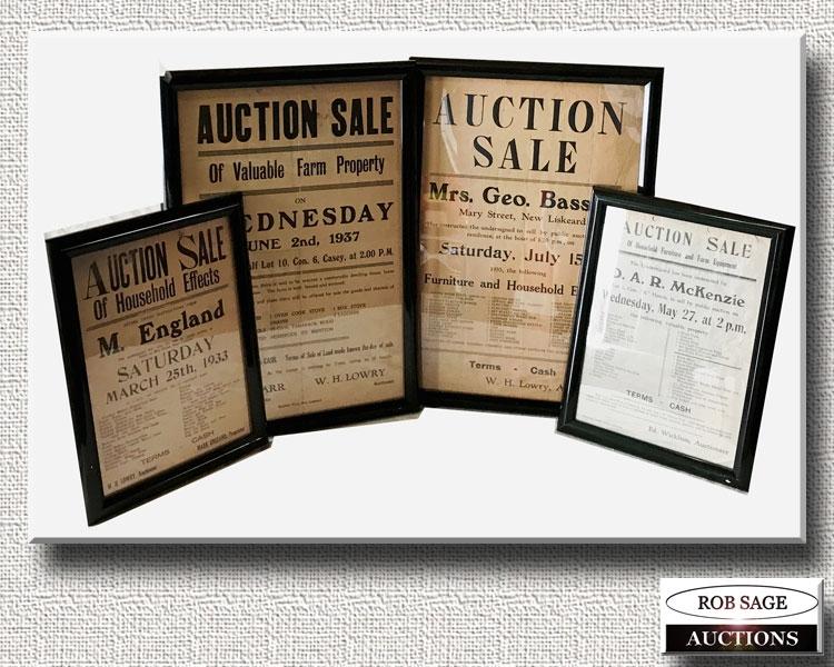 Auction Notices