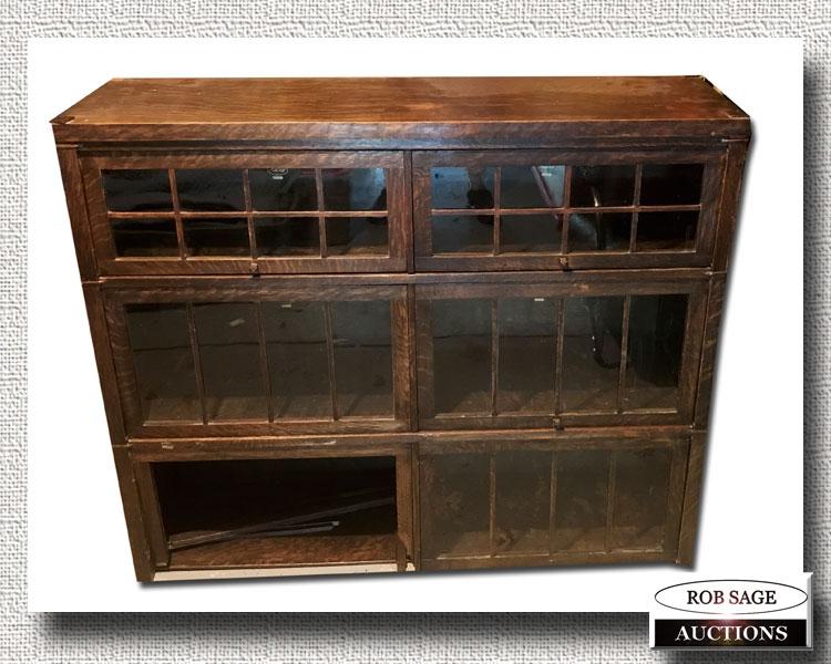 Oak Bookcase Units