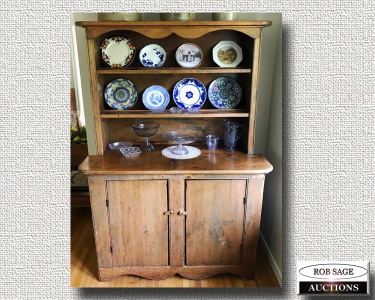 Pine Dish Cupboard