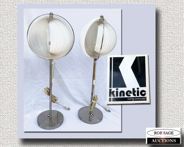 Kinetic Lamps