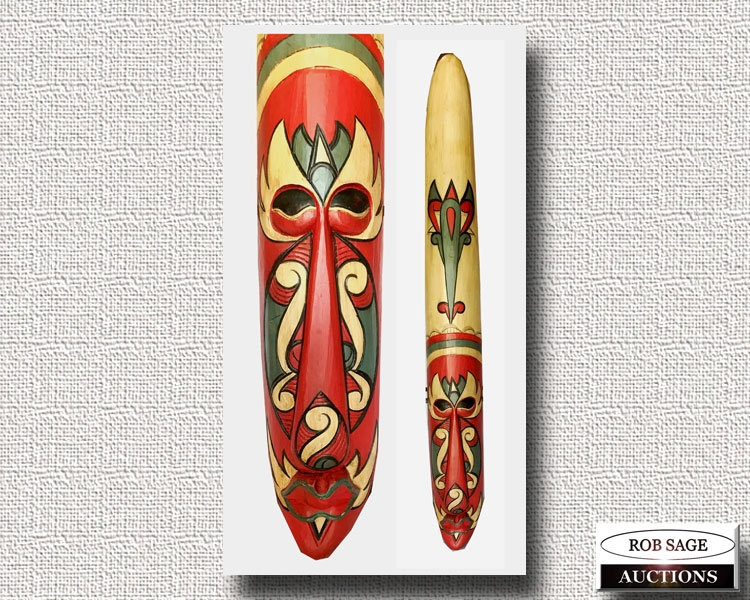 """58"""" Wooden Mask"""