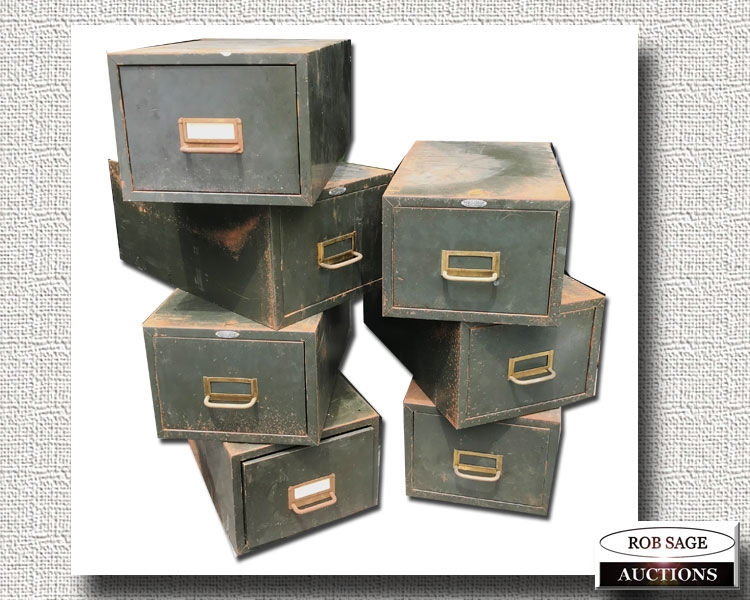 Metal File Boxes