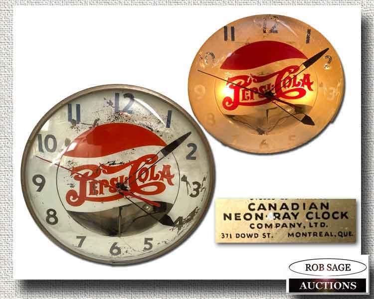 Pepsi Cola Clock