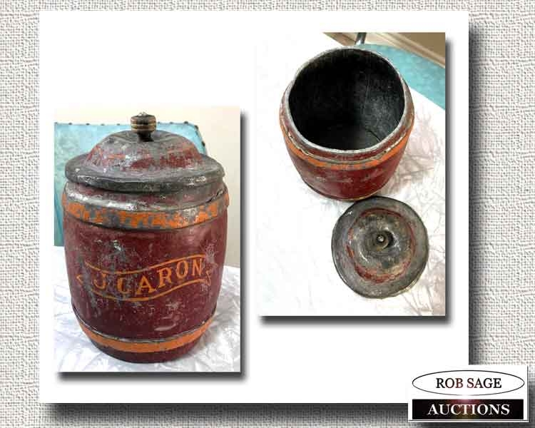 Tea Caddy/Tobbacco Jar