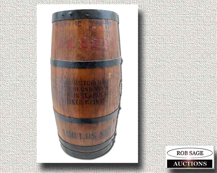 Shipping Barrel