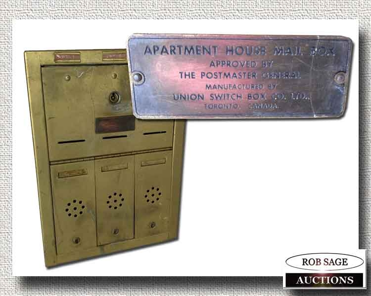 Apartment Mail Box