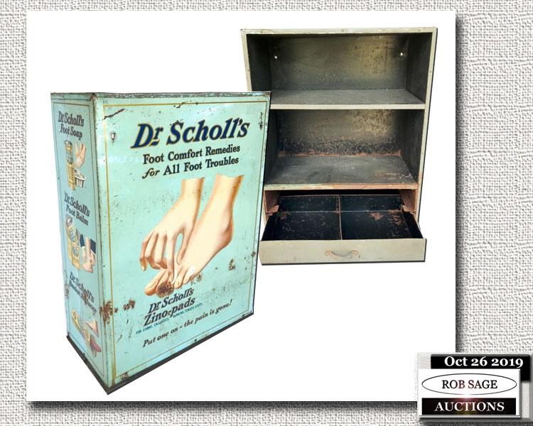 Dr Scholls Metal Cabinet