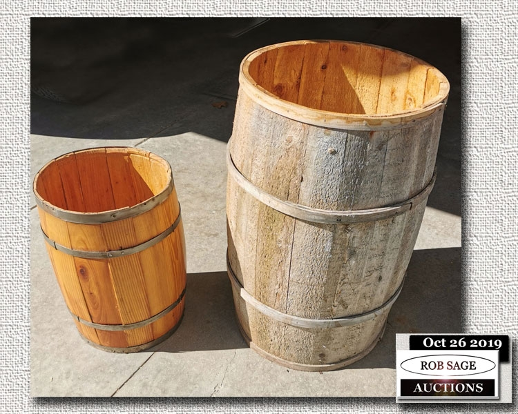 Apple Barrel/Nail Keg