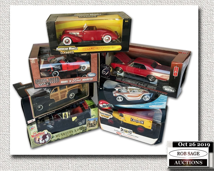 Metal Die Cast Models