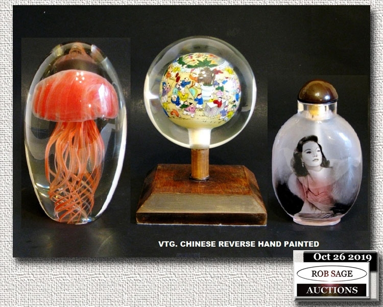 Paper Weights/Perfume Bottle