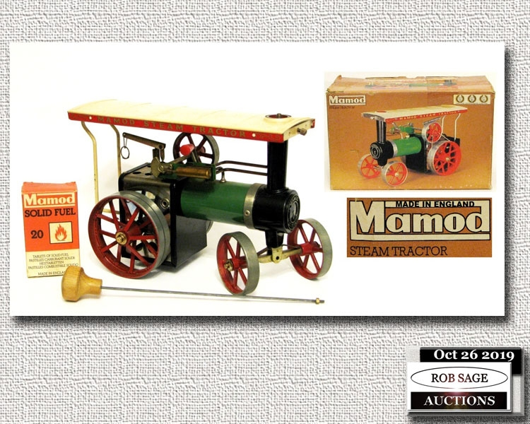 Model Steam Tractor