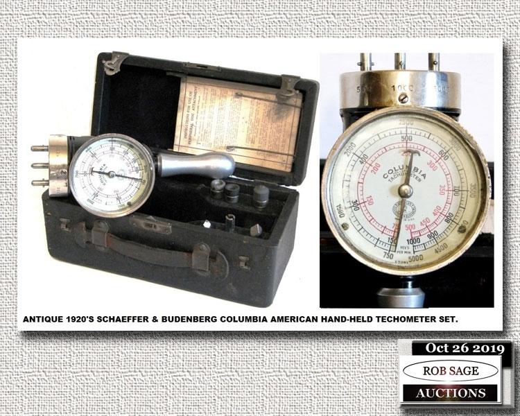 1920's Techometer