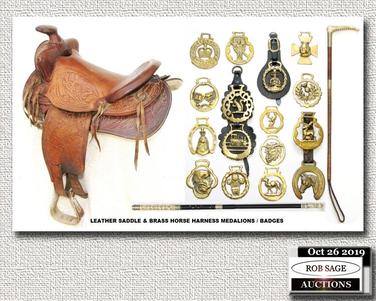 Saddle & Horse Harness Brass