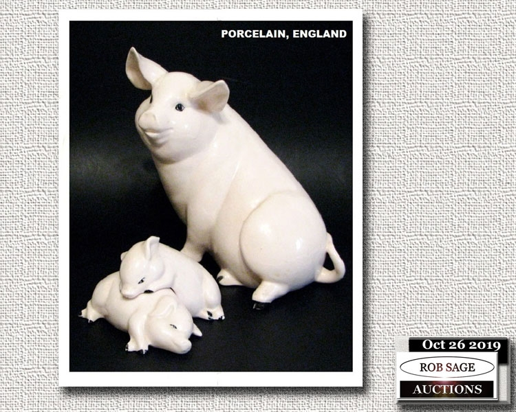 Porcelain Pigs