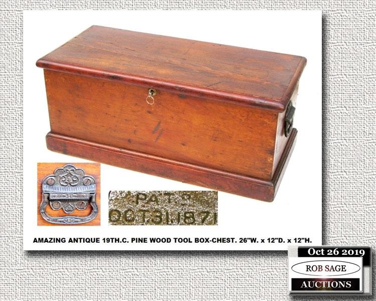 1870's Tool Box