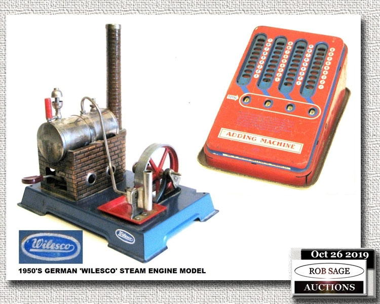 Steam Engine/Adding Machine