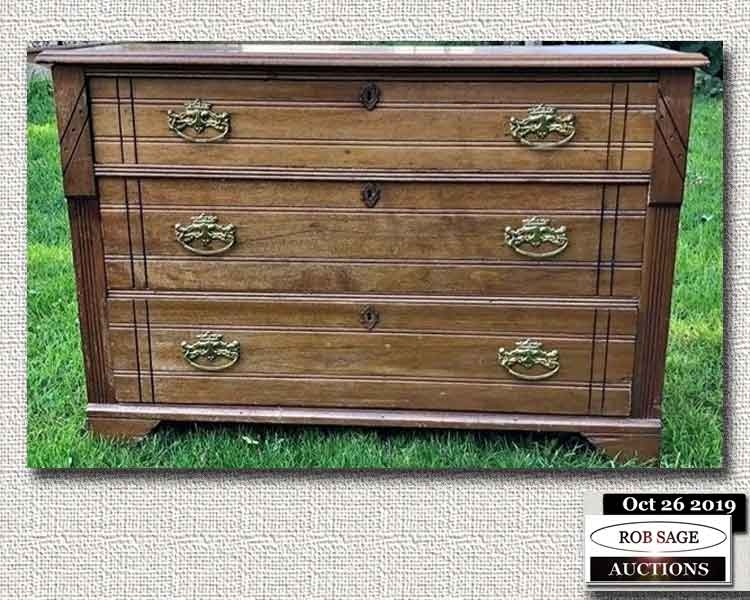 1880's Eastlake Chest