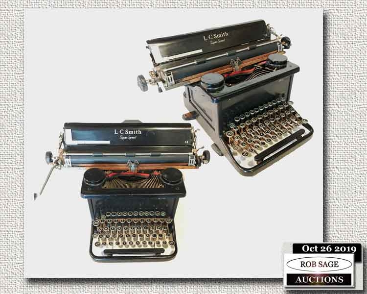 L C Smith Typewriter