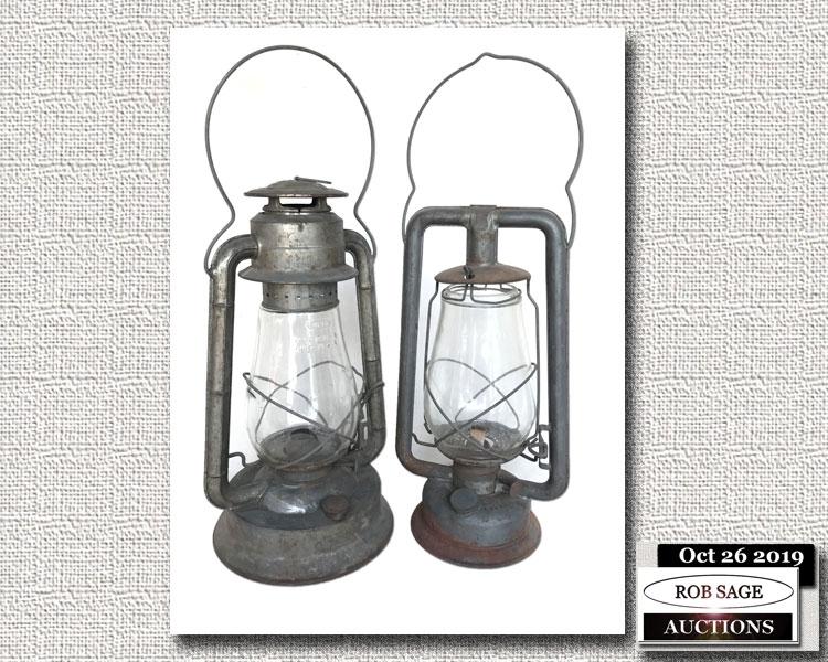 Dietz & GSW Lanterns