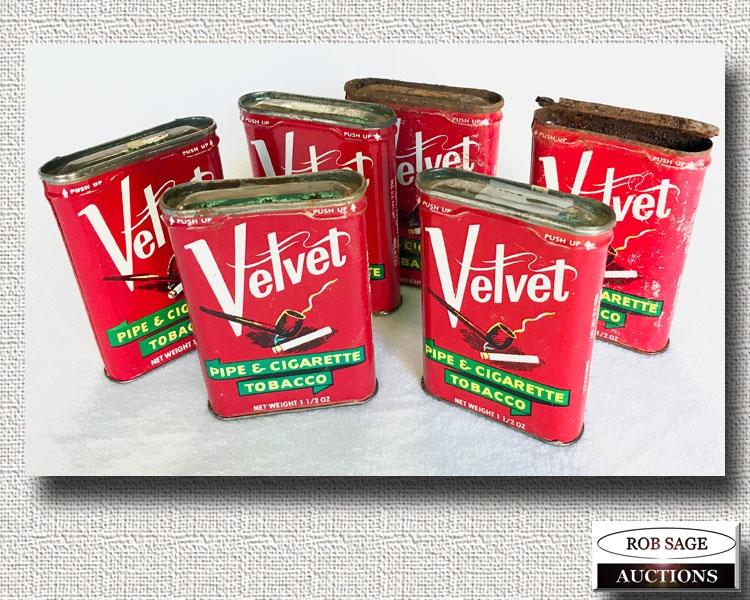 Velvet Tins