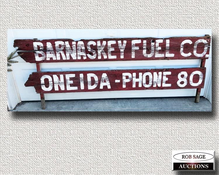 Truck Rack Sign