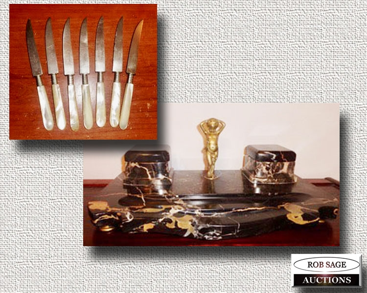 Knife Set/Inkwell Set