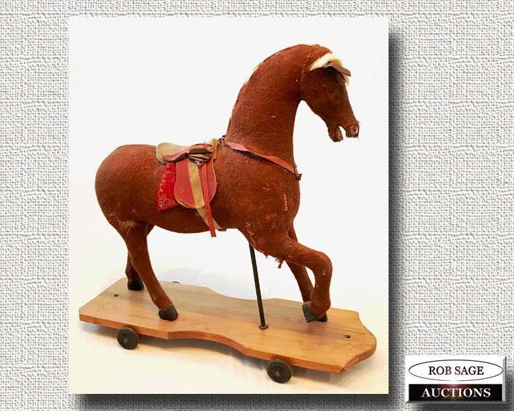 Riding Horse Pull Toy