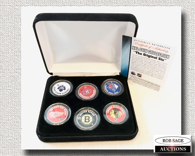 NHL Coin Set