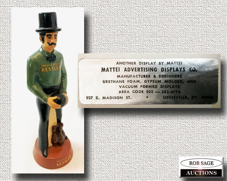 Bar Advertising Figurine