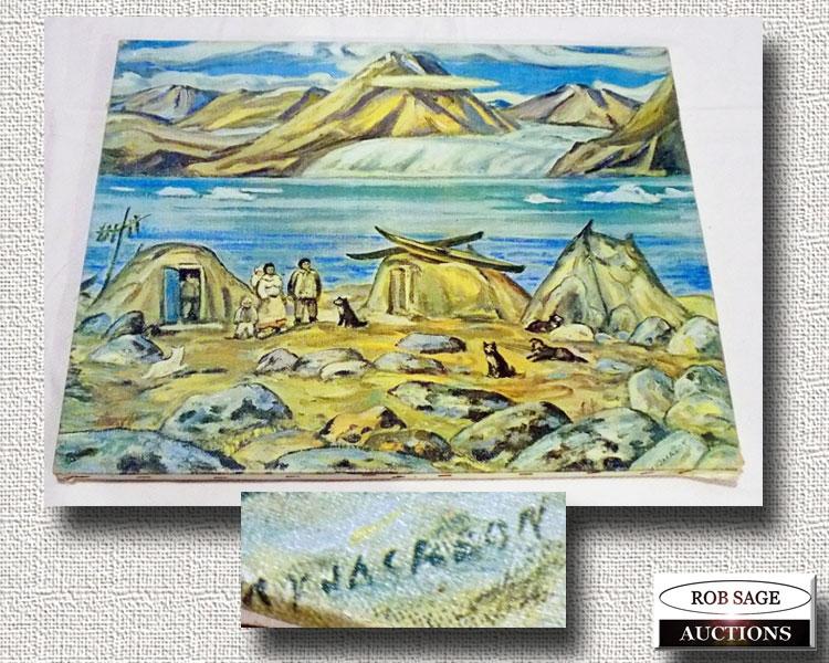Canvas Print A Y Jackson