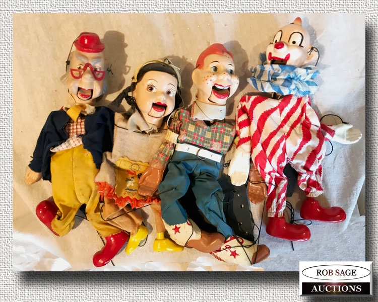 1950's Puppets
