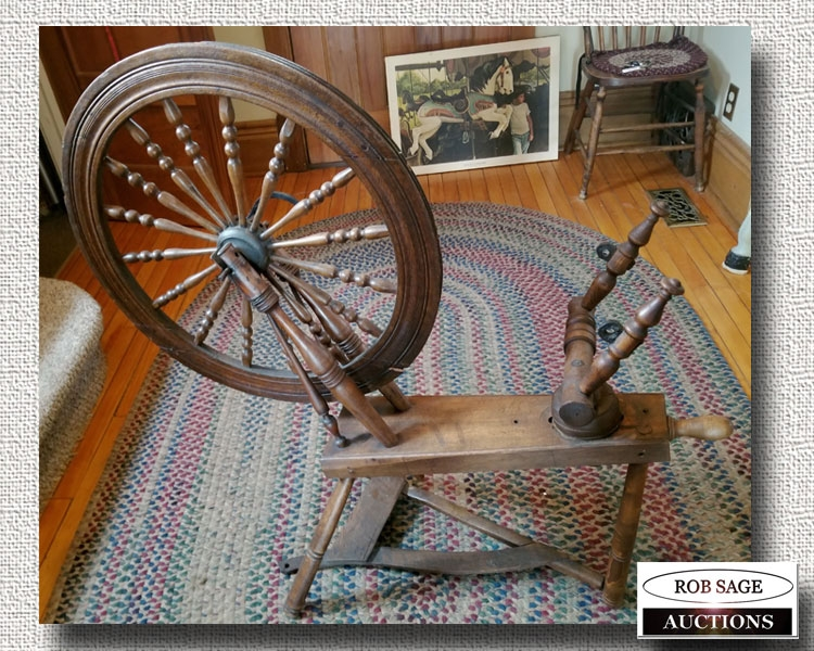 Spinning Wheel Second View