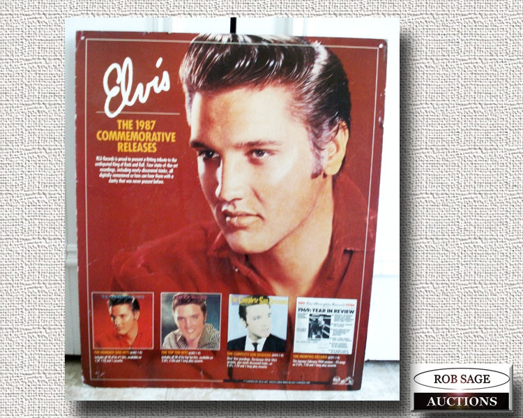 Elvis Advertising Display