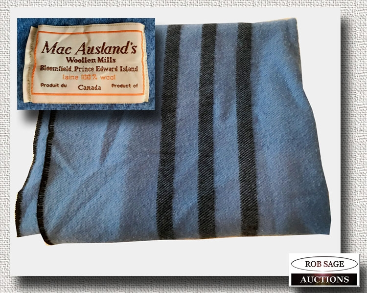 Mac Ausland's Wool Blanket