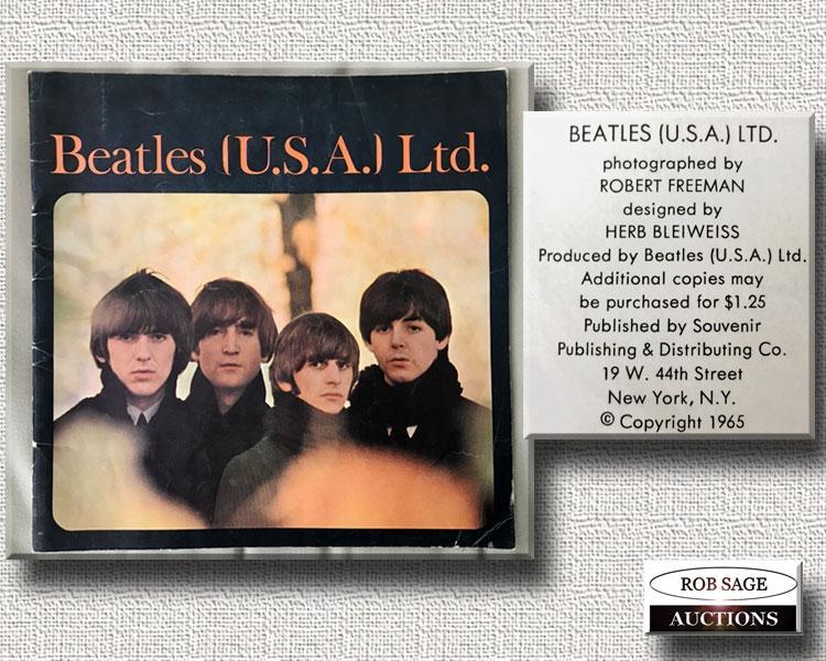 1965 Concert Program
