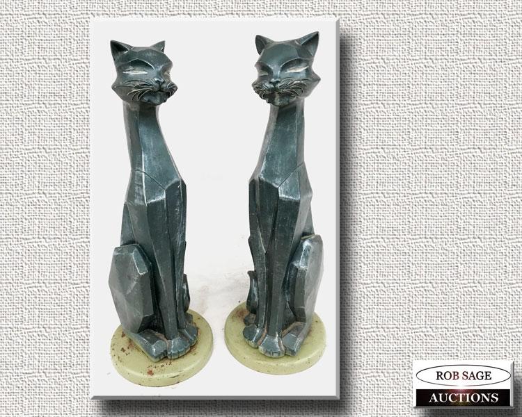 Metal Cat Figurals