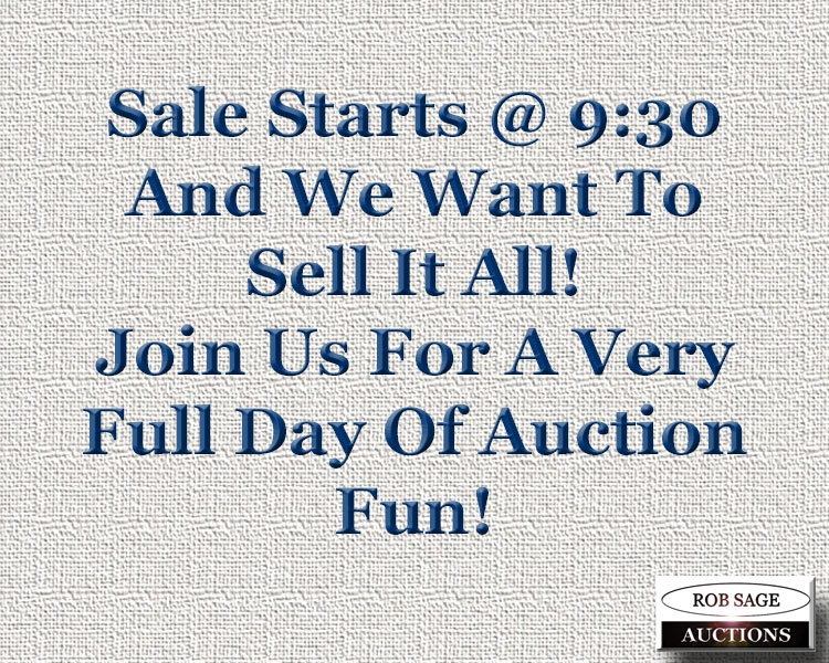 Rob Sage Auctions