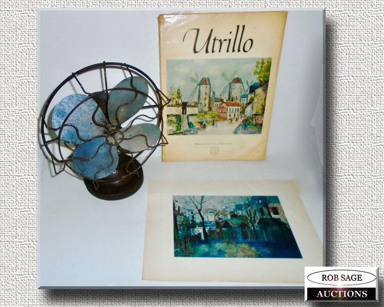 Fan/Utrillo Print