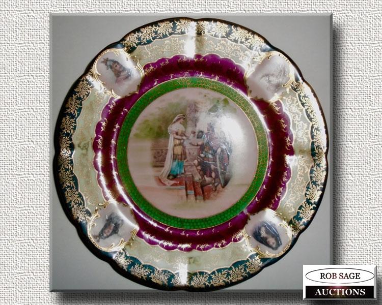 Vienna Portrait Plate