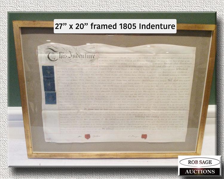 1805 Indenture